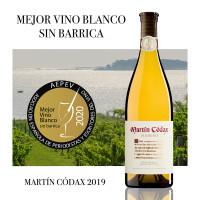 Martín Códax elegido mejor vino blanco sin barrica