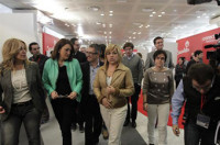 Trinidad Jiménez ve compatible las primarias con el liderazgo de Rubalcaba