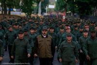 Maduro reprime a los militares venezolanos con la ayuda de Cuba
