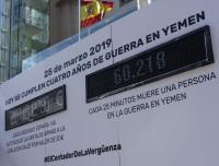 Cinco ONG piden al Gobierno que suspendan la venta de armas a Arabia Saudí y Emiratos Árabes