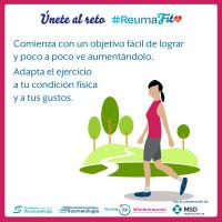 Una de cada tres personas con enfermedades reumáticas alcanzan los mínimos de actividad física recomendados por la OMS