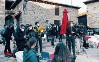 """El rodaje de la película """"Dos vacas y una burra"""" finaliza con éxito en Santander"""