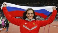 Isinbayeva critica a Green por apoyar a la comunidad gay de Rusia