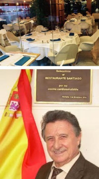 Santiago, el famoso restaurante marbellí acaba de abrir sus puertas