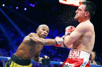 Mayweather fue muy superior a Guerrero