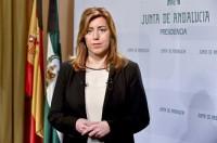 Susana Díaz rechaza suceder a Rubalcaba al frente del PSOE