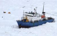 Arranca el rescate del buque ruso encallado en la Antártida