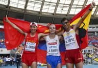 Miguel Ángel López estrena el medallero español y Bolt recupera el trono