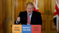 Boris Johnson en cuidados intensivos por COVID-19
