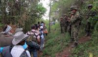Colombia sufre la segunda mayor crisis de desplazados del mundo