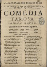 Encuentran en los fondos de la Biblioteca Nacional una comedia desconocida de Lope de Vega