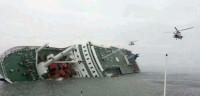 El hundimiento del transbordador surcoreano deja nueve muertos