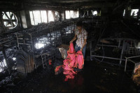 Un incendio en una fábrica textil de Bangladesh acaba con la vida de siete personas