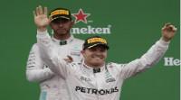 Rosberg le gana la partida a Hamilton y Alonso y Sainz no puntúan