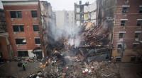 Ya son ocho los muertos por el derrumbe en Manhattan
