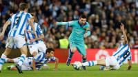 El Barça saca un trepidante empate de Anoeta antes del Clásico
