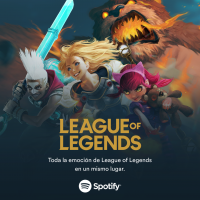Spotify se convierte en el proveedor exclusivo global  de servicios de audio de League of Legends