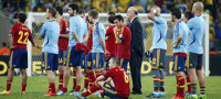 España claudica en Maracaná