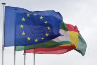 Las banderas no oficiales sin presencia en edificios públicos, ¿y la de Europa?