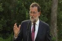 Rajoy pide a Sánchez unidad ante el referéndum