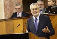 Griñán comparece a petición propia en el Parlamento andaluz
