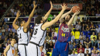 El Barça reacciona a tiempo ante el Bilbao Basket (79-70)