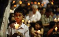 Miles de personas se concentran en Hong Kong por el 24º aniversario de la matanza de Tiananmen