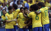Neymar lleva a Brasil a semifinales (2-0)