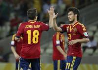 España golea pero aburre ante Nigeria (0-3)