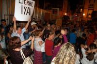 Unas 2.000 personas se manifiestan en Vinaròs para exigir el cierre del proyecto Castor