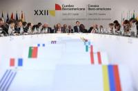 La cumbre Iberoamericana arranca sin la presencia de diez jefes de Estado