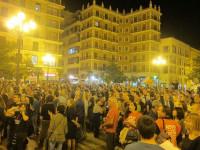 Artistas, trabajadores de RTVV y ciudadanos se concentran contra el cierre y piden la dimisión de Fabra