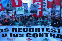 Miles de personas reclaman en Madrid el cese de Wert