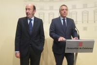 Rubalcaba y Navarro reivindicarán la Constitución y su reforma