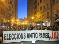 Los valencianos piden elecciones anticipadas