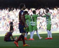 El Barça dice adiós a la Liga (2-2)