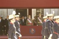 El Rey se despide este domingo de los Ejércitos en su último Día de las Fuerzas Armadas