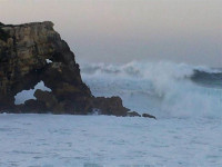 Olas de más de 6 metros frente a las costas de Santander