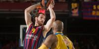El Barça gana y se luce en el pulso al Maccabi por ser segundo (89-71)