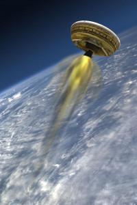 La NASA lanzará su 'platillo volador' en junio