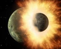 El choque de la Tierra con otro planeta creó la Luna