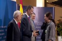 El Rey dice a Pablo Iglesias que le recibirá una vez pasadas las generales