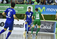 El Inter Movistar cierra la fase regular con goleada