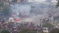 Más de cien heridos en una manifestación de profesores en Curitiba