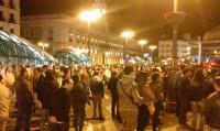 Escasa participación en la manifestación en Sol convocada por el 15M