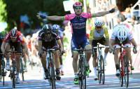 Modolo repite triunfo en un sprint rápido y limpio en Lugano