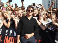 Tom Cruise, baño de masas en Viena durante la premier de 'Misión Imposible'