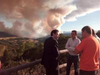 14 incendios forestales continúan activos en Asturias