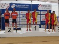 España culmina el Mundial de ciclismo adaptado con un oro, tres platas y dos bronces