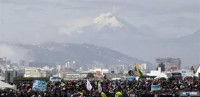 Alerta en Ecuador por la erupción del volcán 'Cotopaxi'